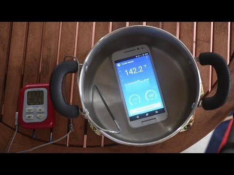 Can the Moto G 3rd Generation Survive Boiling Water ?