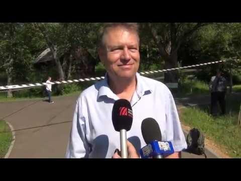 Klaus Iohannis si SPP-ul pe bicicleta