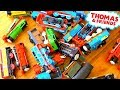 Huge! Thomas and Friends Trackmaster Track Stretched Across the House!
