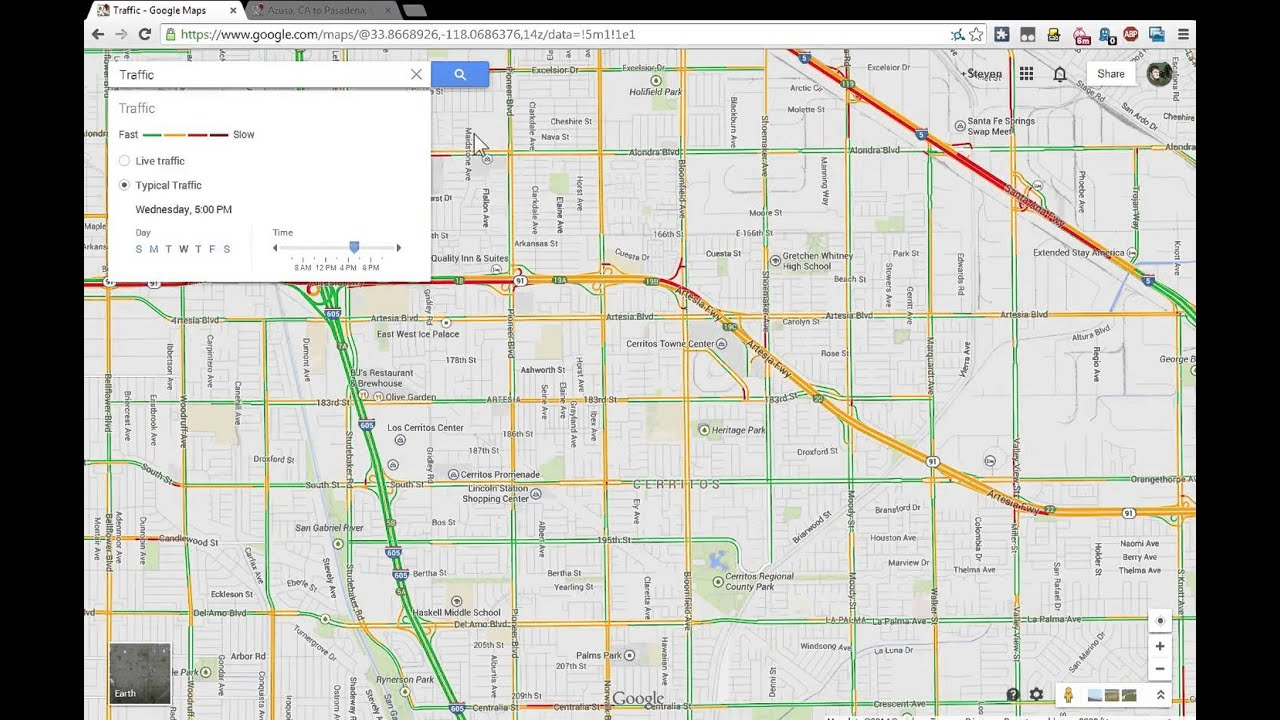 How To Show Traffic Predictions On The New Google Maps Updated Info