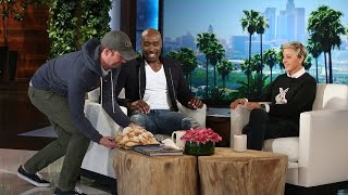 Morris Chestnut Indulges and Talks Empty Nesting