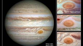 La grande macchia rossa di Giove si restringe - Non è mai stata così piccola