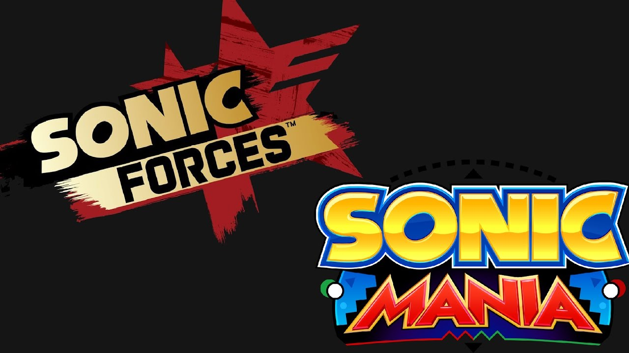 Image result for Sonic Mania and Forces