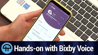 Hands-on with Bixby Voice
