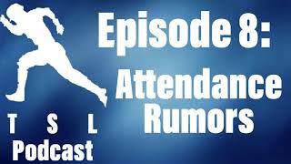 The Secondary Lead Baseball Podcast - Attendance Rumors (Episode 8)