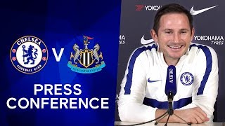 Frank Lampard's Updates on Kanté's Injury & Rudiger's Recovery | Chelsea v Newcastle