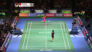 Yonex Japan Open 2015 | Badminton SF M3-WS | Wang Shixian vs Akane Yamaguchi