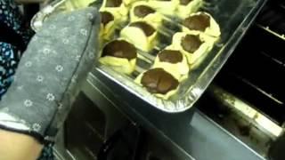 United Purim Volunteers Baking Hamentashen