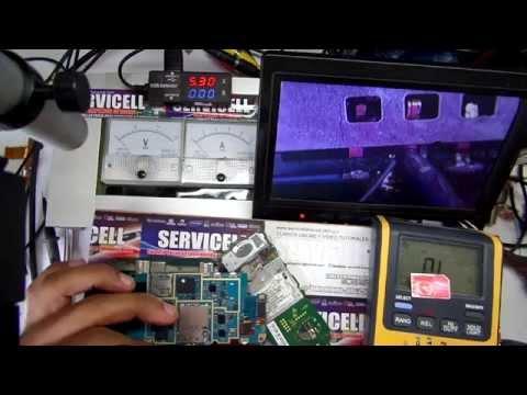 reparación Samsung Wave 525 GT-S5250 no lee sim , insert sim solution