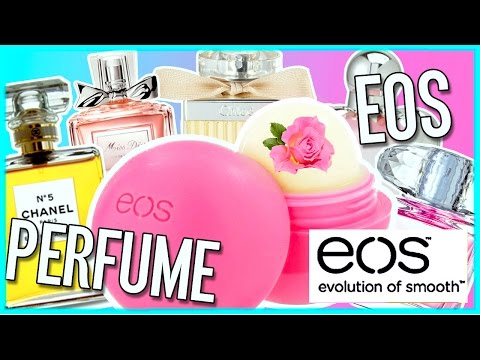 DIY PERFUME EOS! Take Your Favorite Perfume On-The-Go! VERY EASY