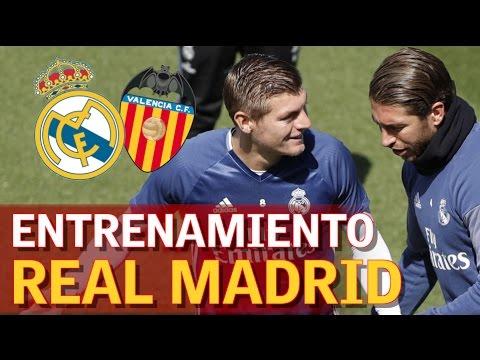 Real Madrid | Entrenamiento antes de recibir al Valencia | Diario AS