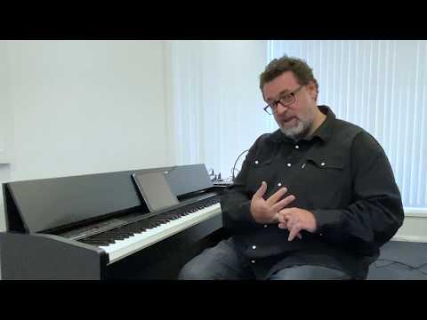 Using the Roland F-140 Digital Piano with GarageBand