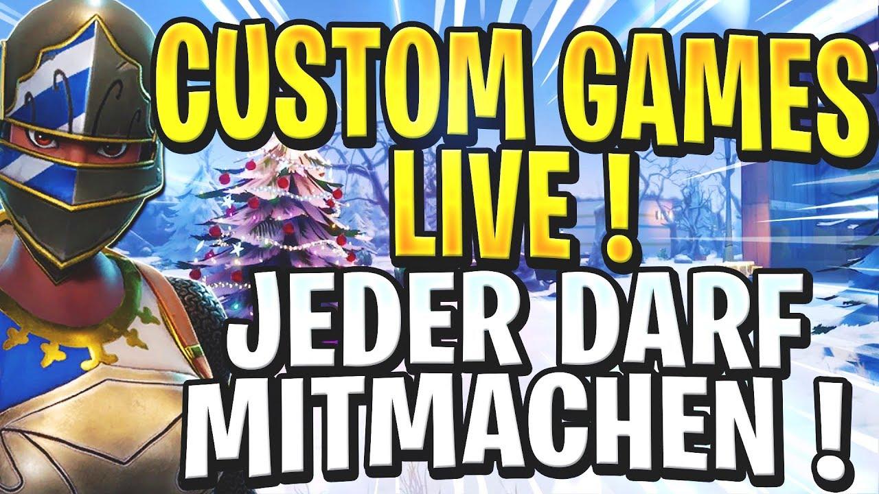 fortnite live deutsch custom games jeder darf mitmachen avtomaticheskaya torgovlya na foreks - fortnite stretched nach update