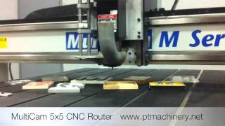 MultiCam M Series 5x5 CNC Router