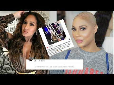 Tamar Braxton JACKS Adrienne Bailon Instagram Post and passes it as HER OWN! SHADE!