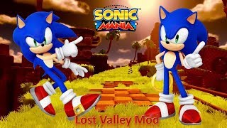 Sonic Mania (PC) Mod Part 18_ Lost Valley Mod (1080p60fps)