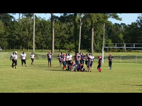 """J"" #58 big hitz ???? HaveLock MiddLe SchooL Trojans 09/21/2016"