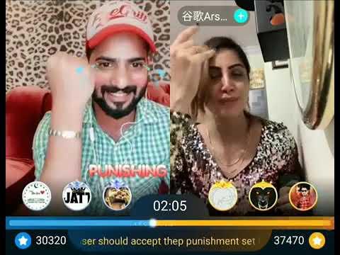 Arshi Khan live Bigo with Team Sabziwally|Ali Haydrabadi|Nadeem Nani Wala