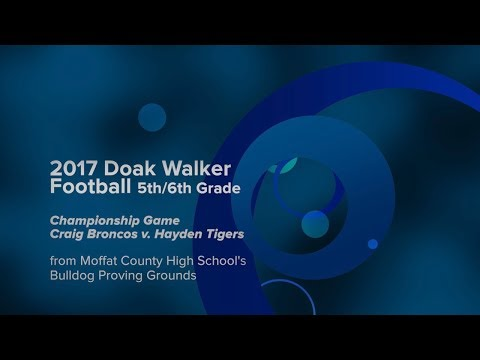 2017 Doak Walker Football Championship - HD
