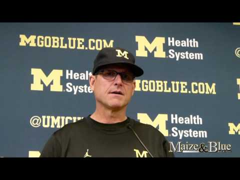 Harbaugh talks Speight health, QBs, Indiana