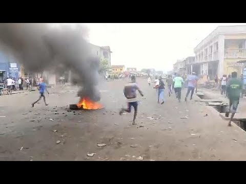 At least 7 dead in DR Congo protests
