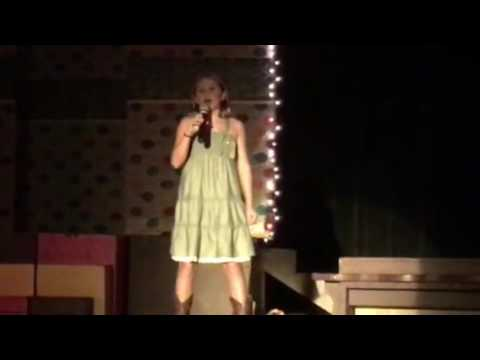 Caroline at C'ville Jr. Idol - Fight Song