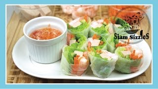 Vietnamese Pork And Shrimp Spring Rolls With Special Dip