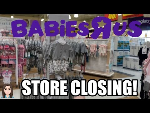 Shopping At Babies R Us! STORE CLOSING!! | Kelli Maple