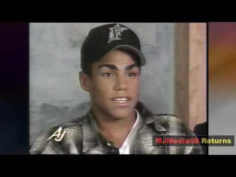 December 1995 Michael Jackson's Nephews, 3T, Speak on MJ (HD1080i)