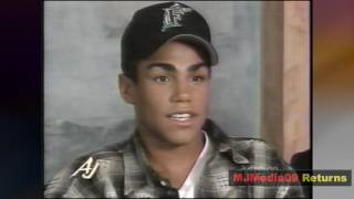 December 1995 Michael Jackson's Nephews, 3T, Speak on MJ (HD1080i)