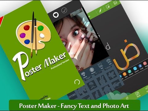poster maker fancy text art and photo art apps on google play