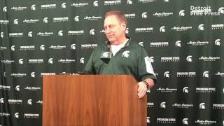 Michigan State's Tom Izzo prepares for Final Four