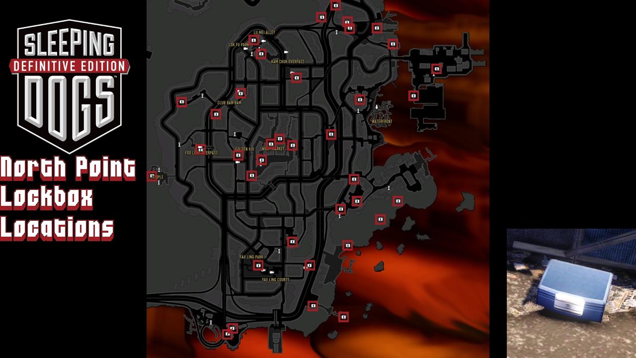Sleeping Dogs Locations