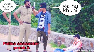 Police Encounter prank in INDIA Part 4   ANS Entertainment   Pranks In INDIA 2019