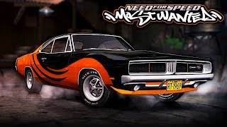 NFS Most Wanted | 1969 Dodge Charger R/T Mod Gameplay [1440p60]