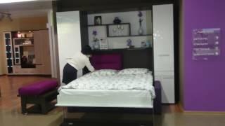 видео Горизонтальные откидные кровати