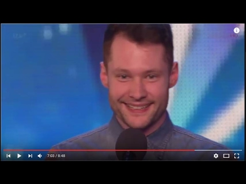 """Calum Scott,26, First Audition Captivates Everyone!   Golden Buzzer   """"Dancing On My Own"""" by Robyn"""