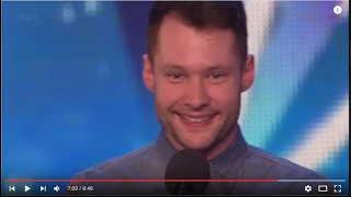 Calum Scott,26, First Audition Captivates Everyone! | Golden Buzzer |
