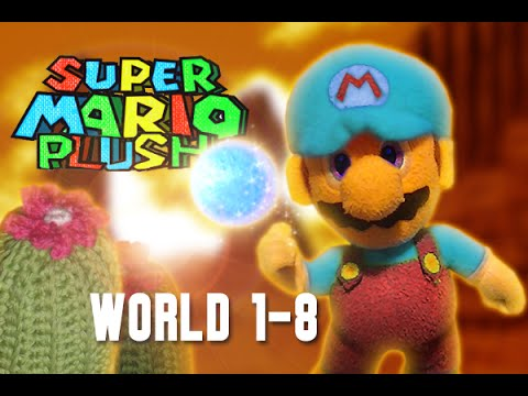 Super Mario Plush World 1-8