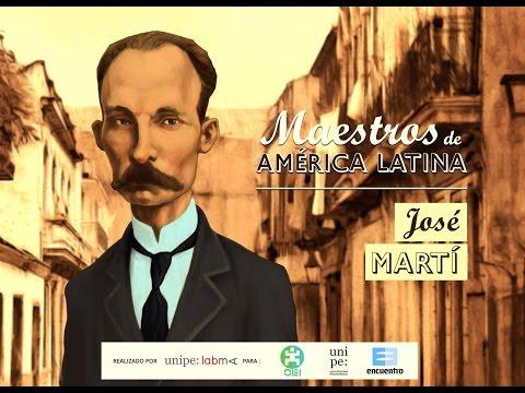 JOSÉ MARTÍ - Serie Maestros de América Latina