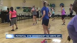 Potential gym membership tax write off