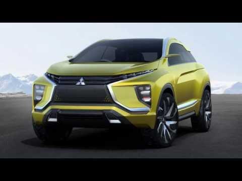 Mitsubishi Ex Concept Previews New All Electric Suv 2017