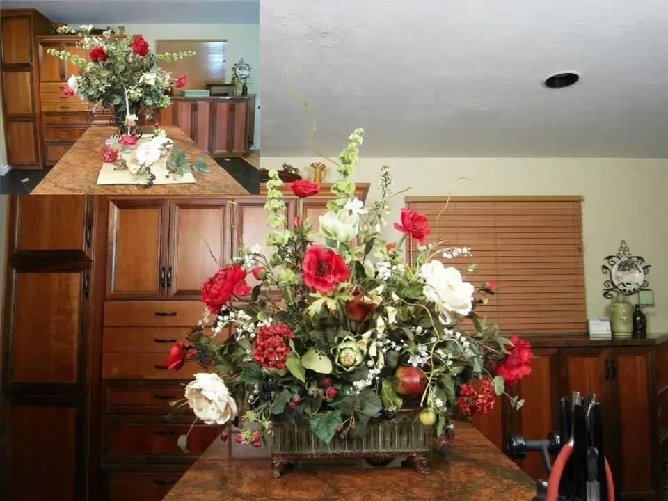 Silk Floral Arrangements Design Refurbishing An Old Worn