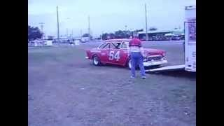 1955 NASCAR Grand National Stock Car in action!