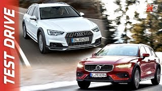 VOLVO V60 CROSSCOUNTRY VS AUDI A4 ALLROAD 2019 - FIRST TEST DRIVE