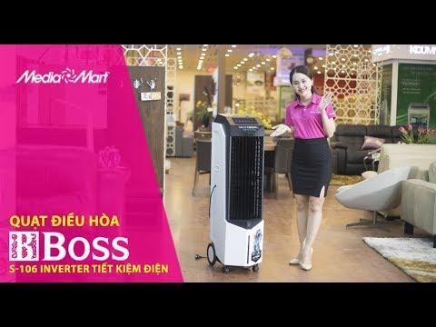 Quạt điều hòa Boss S-106: Tiết kiệm điện, thân thiện môi trường
