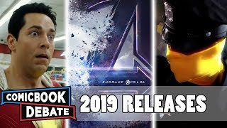 All New Marvel & DC Releases in 2019 in 9 Minutes