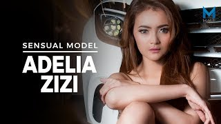 Lekuk Indah ADELIA ZIZI, Model Seksi  yang Mengundang Fantasi - Male Indonesia