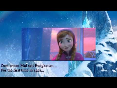 Frozen - For The First Time In Forever (Reprise) - German + Translation