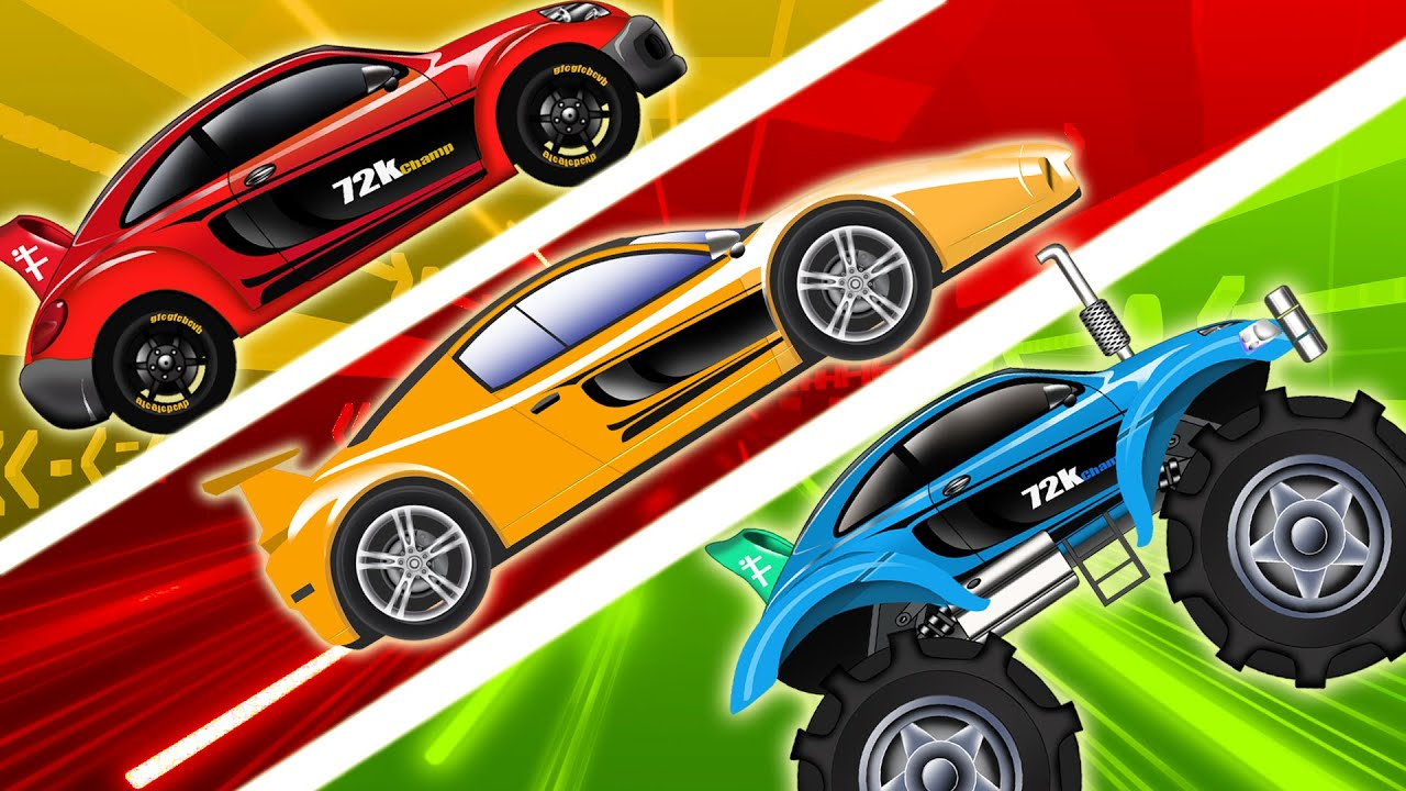 Sports Car Racing Cars Compilation Cars For Kids Videos